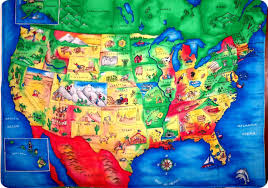 map us landforms maps u s map puzzle android apps on play for us kid