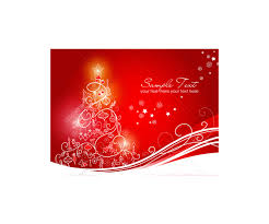 greeting cards with christmas tree vector graphics prearranged