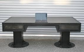 buy a handmade vintage industrial desk with drawers steel custom