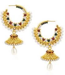kerala style jhumka earrings jhumkas online shopping buy jhumki design collections india
