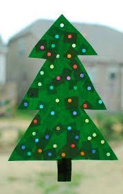 christmas tree with lights paper craft u2013 in lieu of preschool