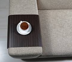couch arm coffee table amazon com sofa tray table zebrano tree sofa arm tray armrest