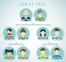 creative vector family tree design free vectors ui