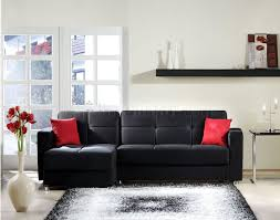 black sectional sofa bed elegant rainbow storage sectional sofa in black by sunset