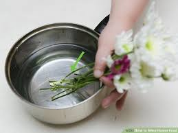 How To Take Care Of Flowers In A Vase How To Make Flower Food With Pictures Wikihow