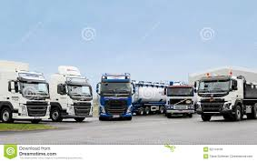 commercial volvo trucks for sale line up of volvo trucks editorial stock image image 62744109