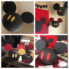 diy mickey mouse baby shower decorations zone romande decoration