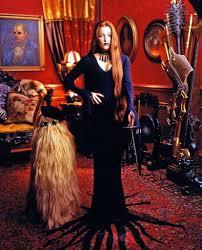 Gillian Anderson Latex - gillian anderson as morticia addams 1997 pics