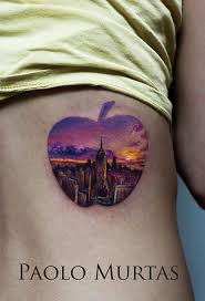 tattoo pictures of new york new york apple tattoo best tattoo design ideas
