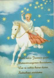 femme au foyer a baltic christmas day 9 latvian christmas cards