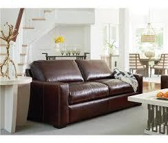 Leather Sofa Seat Latitude Run Dansville Two Seat Top Grain Leather Sofa