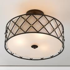 modern studded lattice ceiling light diffused light ceiling and