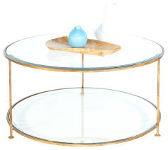 gold glass coffee table round glass coffee table gold metal and glass coffee table coffee
