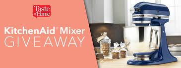kichenaid mixer giveaway