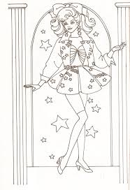 Barbie Halloween Coloring Pages 40 Best Barbie Coloring Images On Pinterest Barbie Coloring