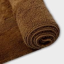 Christmas Bathroom Rugs by Brown Bathroom Rug Nujits Com