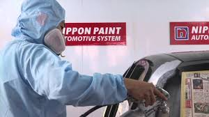 nippon paint automotive system spraying process youtube