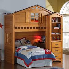 ACME Furniture Tree House Loft Bed  Reviews Wayfair - Treehouse bunk beds