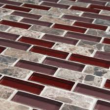 Glass Backsplash For Kitchen Decorating Glass And Stone Mosaic Wall Tile For Glass Backsplash