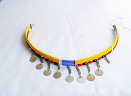 beaded collar necklace jewelry images African maasai choker necklace african masai jewelry african jpg