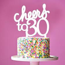 30 cake topper 30th birthday celebration cake for everyone beadworks norwalk