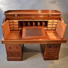 oak writing bureau uk antique writing bureau large cylinder roll