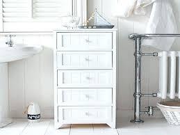 Bathroom Furniture White Wicker Bathroom Furniture White 3 Basket Bathroom Storage Bench