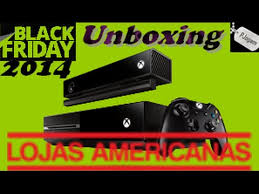 x box black friday unboxing xbox one black friday 2014 lojas americanas youtube