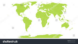 Map Icon World Map Icon Stock Vector 287661935 Shutterstock