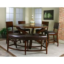 Chair Dining Table Creditrestoreus - Bar height dining table with 8 chairs