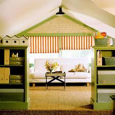 Green Bookshelves - attic works color green
