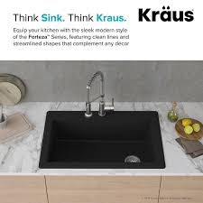 dual mount kitchen sink kraus forteza dual mount 33 x 22 drop in kitchen sink reviews