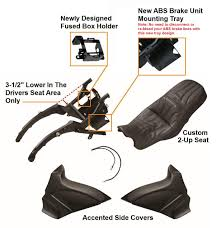 parts u0026 accessories for harley davidson motorcycles drop seat kit