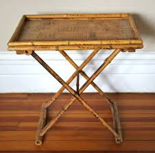 folding oversized wood tray table in espresso folding tray tables givgiv