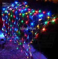 led net lights multi color 144 led lights 1 5m 1 5m net curtain light christmas ornament