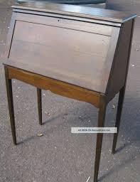 antique drop front desk furniture console antique drop front secretary desk design