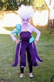 Mermaid Halloween Costume Homemade Costumes Girls Ursula Mermaid Costumes