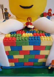 tiered lego bricks reveal birthday cake quality cake company