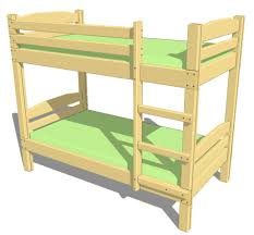 Bunk Bed Drawing Plans To Build A Bunk Bed Pleasing Bunk Beds Design Plans Home
