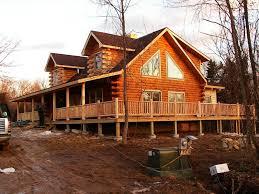 Small Cabin Kits Minnesota Log Cabin Kits Construction Ebay