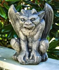 21 best gargoyles images on lions garden statues and