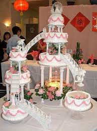 tiered wedding cakes tiered wedding cakes with fountains fondant cake images