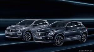 volkswagen special editions 2018 volkswagen t roc black and cyber special edition youtube