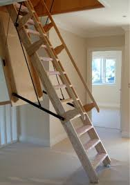 Height Of Handrails On Stairs by Sandringham Electric Folding Loft Ladder Available In A Range
