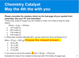 increasing access to stoichiometry through differentiated in class