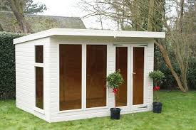 Garden Shed Summer House - the denby summerhouse 10x8 free delivery ready built