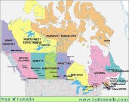 canada maps trail canada