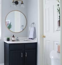best paint for oak bathroom cabinets the best 20 diy navy blue gold painted vanity bathroom