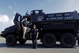 swat vehicles tons of military equipment donated to police sheriffs