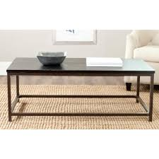 distressed black end table safavieh alec distressed black coffee table amh6545c the home depot